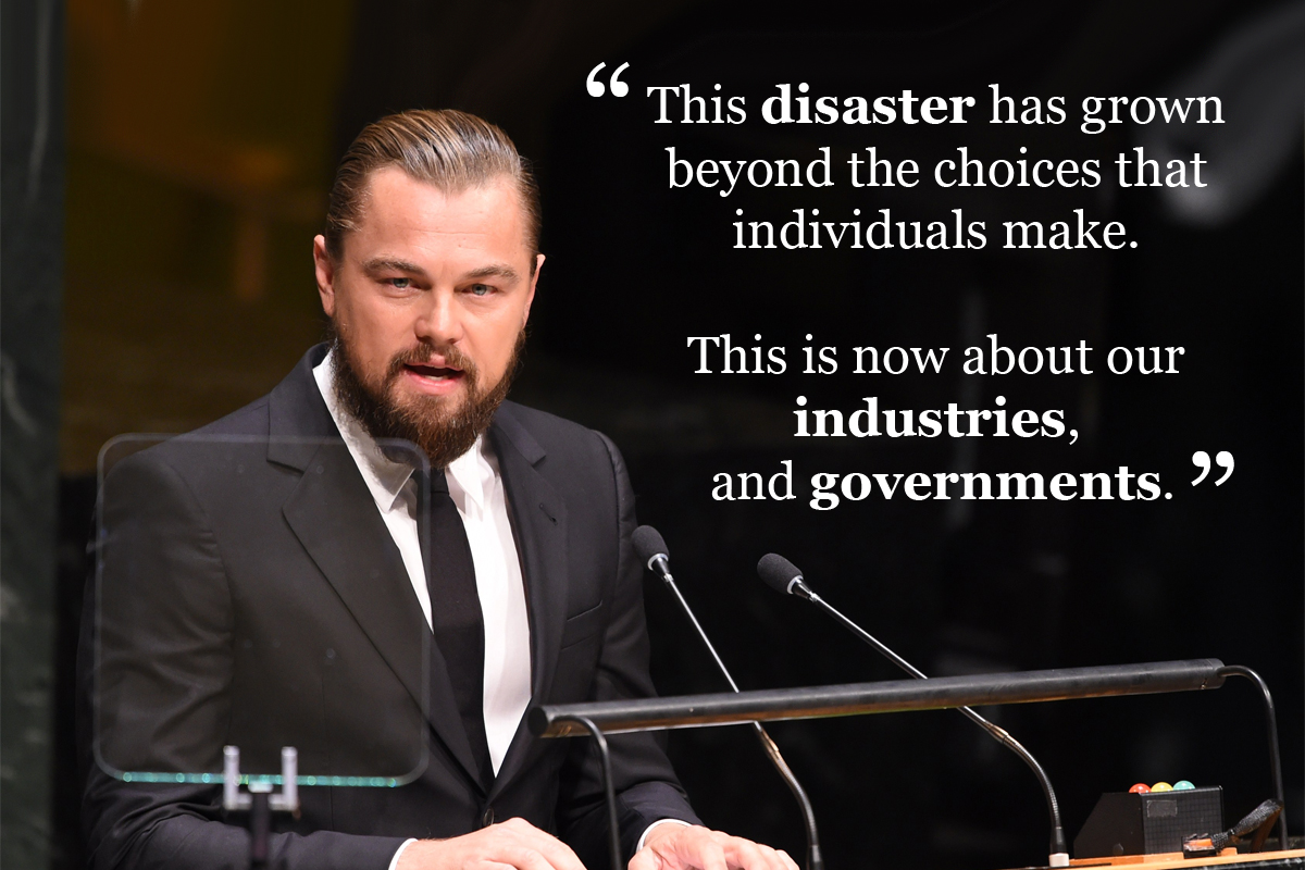 Nine Celebrities Changing the Conversation on Climate ...